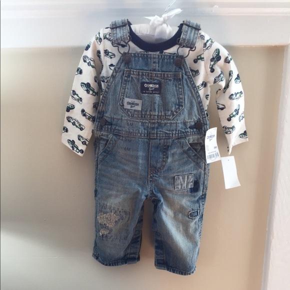 OshKosh BGosh Baby Boys Overalls